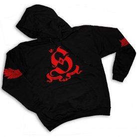 "HANORAC ""Subsemnatu"" - black/red"