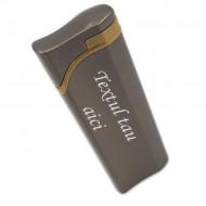 Bricheta antivant personalizata gravata cu textul tau e5
