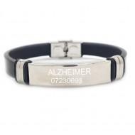 Bratara personalizata medicala ALZHEIMER si numarul de telefon