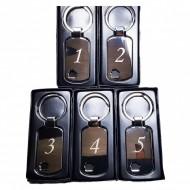 Set 5 bucati breloc personalizat cu logo si numar camera pentru vila, casa vacanta, hotel, hostel, pensiune