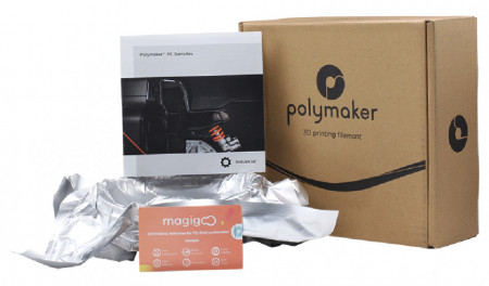 Filament POLYMAKER Sample Box 4 (Polycarbonate/Industrial)