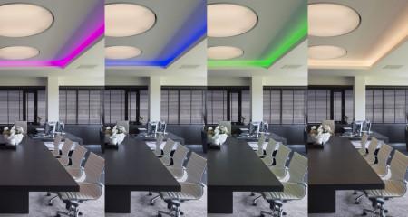 Iluminat dinamic RGBW