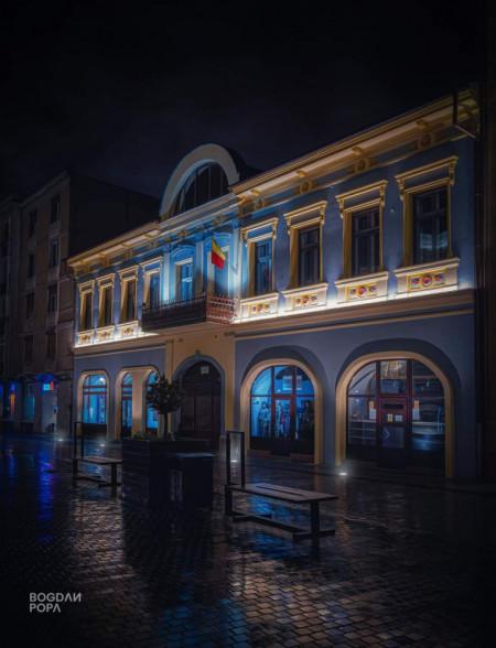 Iluminat arhitectural dinamic