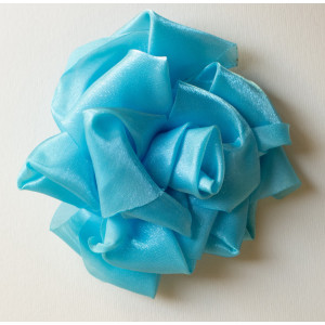 Floare organza bleu.