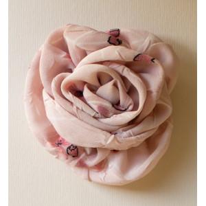 Floare roz imprimat.