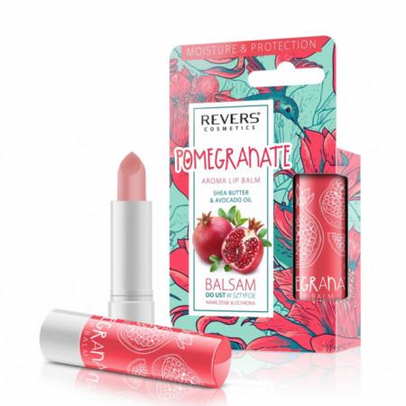 Balsam de buze, Revers, pomegranate