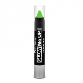 Creion machiaj neon reactiv UV Paint Stick PaintGlow Green