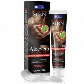 Crema depilatoare Inelia pentru barbati
