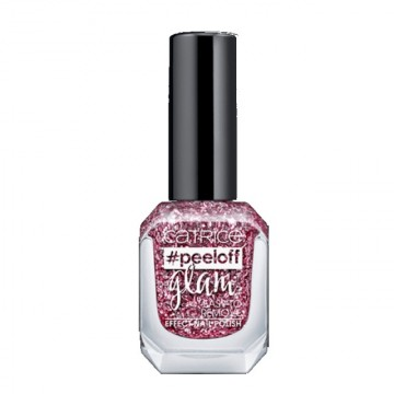 Lac de unghii Catrice peeloff glam Easy To Remove Effect Nail Polish 01 Stress Does Not Go Well With My Polish