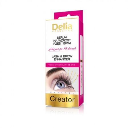 Ser intensificare gene si sprancene Delia Cosmetics