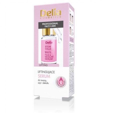 Ser pentru fata si decolteu Delia Cosmetics cu celule stem