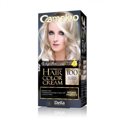 Vopsea de par Delia Cosmetics Cameleo, 100 De-coloring Cream