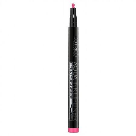 Creion de buze Catrice Aqua Ink Lipliner 080 Pinky Panther, 1 ml