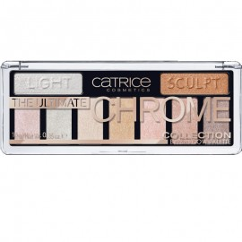 Poze Fard de pleoape Catrice The Ultimate Chrome Collection Eyeshadow Palette 010