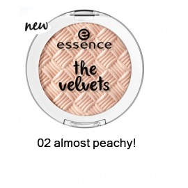 Poze Fard de pleoape Essence Velvets Eyeshadow 02 almost peachy!