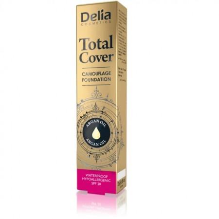 Fond de ten Delia Total Cover nr 57 caramel