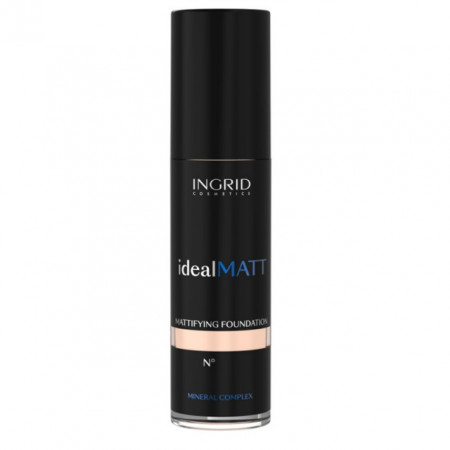 Fond de ten Ingrid Cosmetics Ideal Lumi Matt, nr.300 ivory