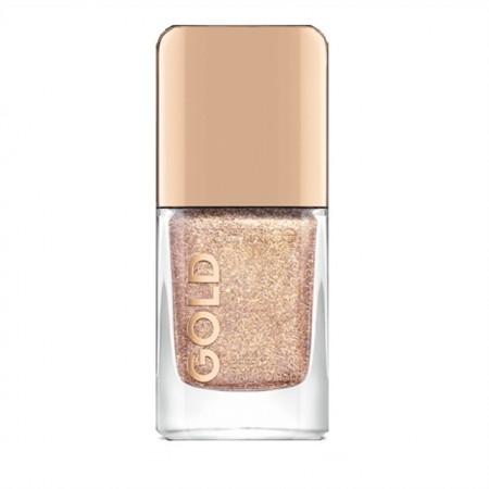 Lac de unghii Catrice, Gold Effect Nail Polish 04 Secret Adoration gold, 10.5 ml