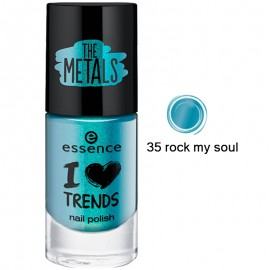 Poze Lac de unghii Essence I love TRENDS nail polish 35 rock my soul