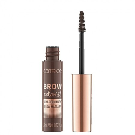Mascara sprancene semipermanenta Catrice Brow Colorist Semi-Permanent Brow Mascara 025 Brunette