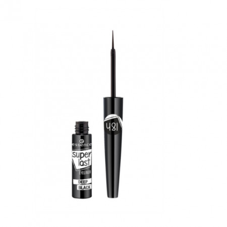 Tus de ochi Essence superlast eyeliner deep black