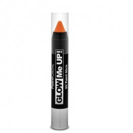 Creion machiaj neon reactiv UV Paint Stick PaintGlow Orange