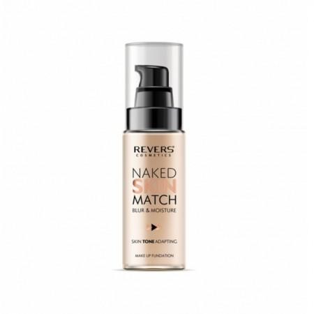 Fond de ten lichid Revers Naked Skin Match nr 02 nude beige