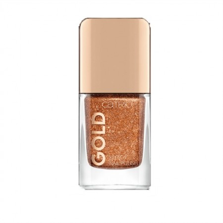 Lac de unghii Catrice, Gold Effect Nail Polish 05 Magnificent Feast gold, 10.5 ml