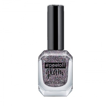 Lac de unghii Catrice peeloff glam Easy To Remove Effect Nail Polish 02 Nail More, Worry Less