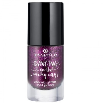 Lac de unghii Essence dancing on the milky way cosmic glitter nail polish 02 - Limited Edition