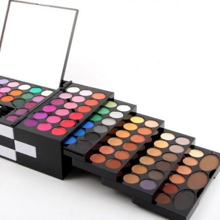 Trusa de Machiaj Profesionala MISS ROSE Blockbuster Makeup Palette, 148 culori