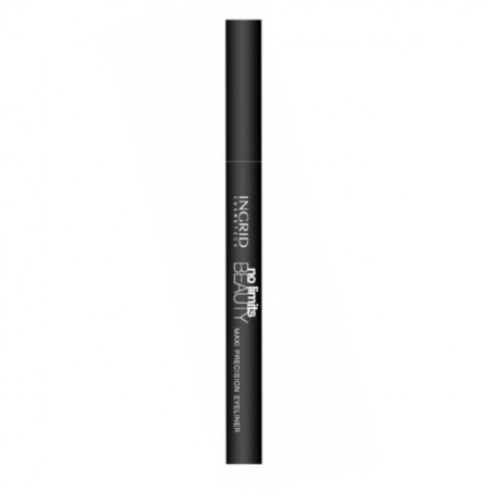 Tus de ochi Ingrid Cosmetics No Limits Beauty Eyeliner, negru