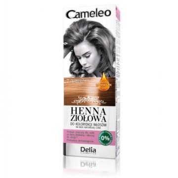 Vopsea de par Henna Creme Delia Cosmetics Cameleo 7.3 hazelnut