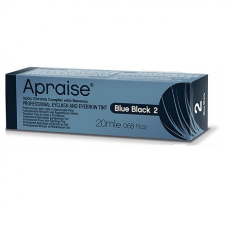 Vopsea sprancene gene profesionala Apraise blue black