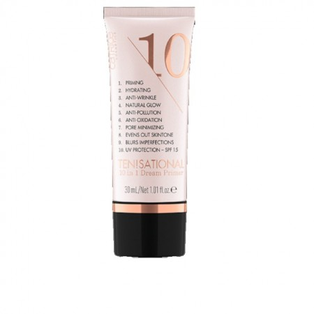 Baza Machiaj Catrice Ten!sational 10 in 1 Dream Primer Nude, 30 ml