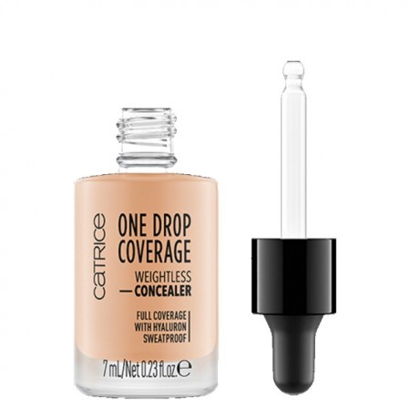 Corector Hidratant Catrice One Drop Coverage Weightless Concealer 020 nude beige
