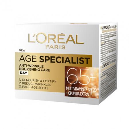 Crema de zi antirid L'Oreal Paris Age Specialist 65+