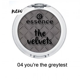 Poze Fard de pleoape Essence Velvets Eyeshadow 04 you're the greytest