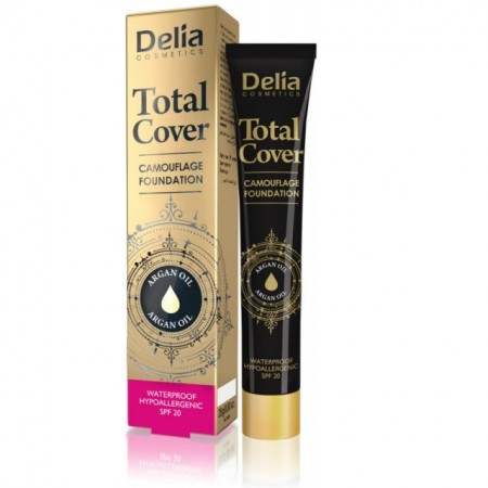 Fond de ten Delia Total Cover nr 58 dark beige