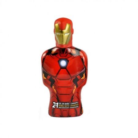 Gel de dus si spumant de baie Iron Man 3D 350 ml
