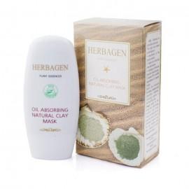 Masca de fata Herbagen antiseboree cu argila