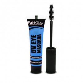 Poze Mascara Neon UV PaintGlow UV Eye Blue