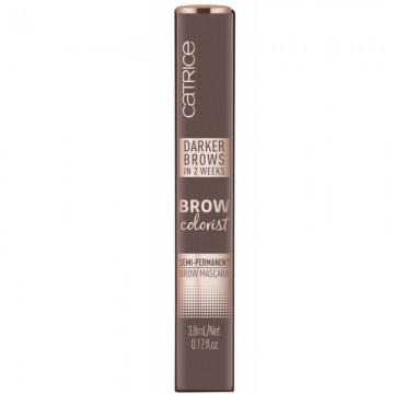 Mascara sprancene semipermanenta Catrice Brow Colorist Semi-Permanent Brow Mascara 030 dark