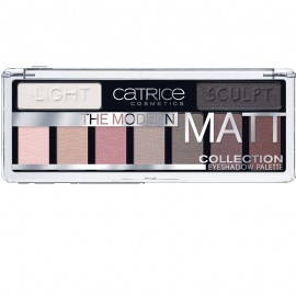 Paleta fard Catrice The Modern Matt Collection Eyeshadow Palette 010