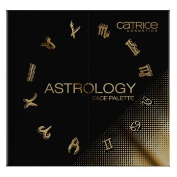Paleta fard de obraz si iluminator Catrice Astrology Face Palette - Limited Edition