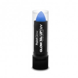 Ruj Neon UV Lipstick PaintGlow Blue