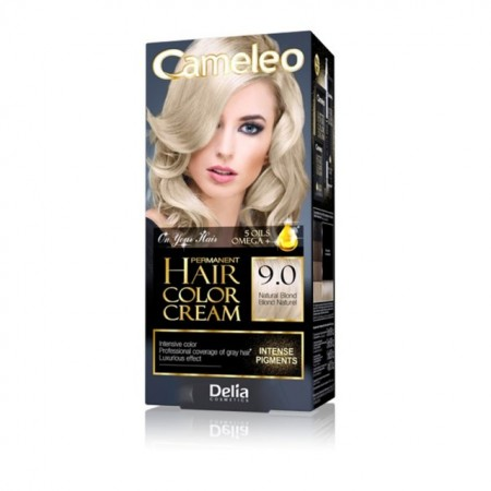 Vopsea de par Delia Cosmetics Cameleo, 9.0 natural blond