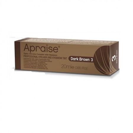 Vopsea sprancene gene profesionala Apraise dark brown