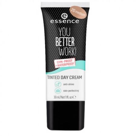 Crema nuantatoare Essence you better work! tinted day cream 20 medium