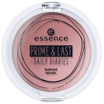 Fard de obraz Essence prime & last daily diaries baked blush 01 - Limited Edition